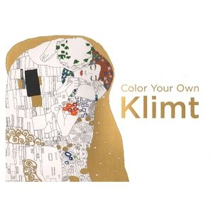 NEW Color Your Own Klimt Adult Coloring Book